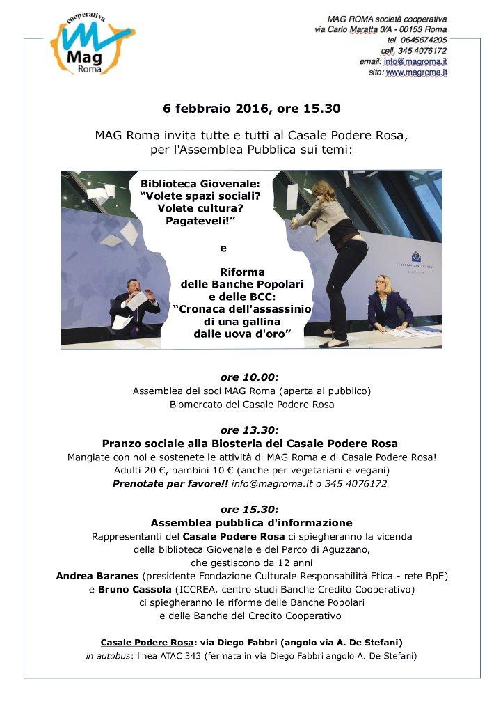 programma assemblea mag roma 6 febbraio 2016