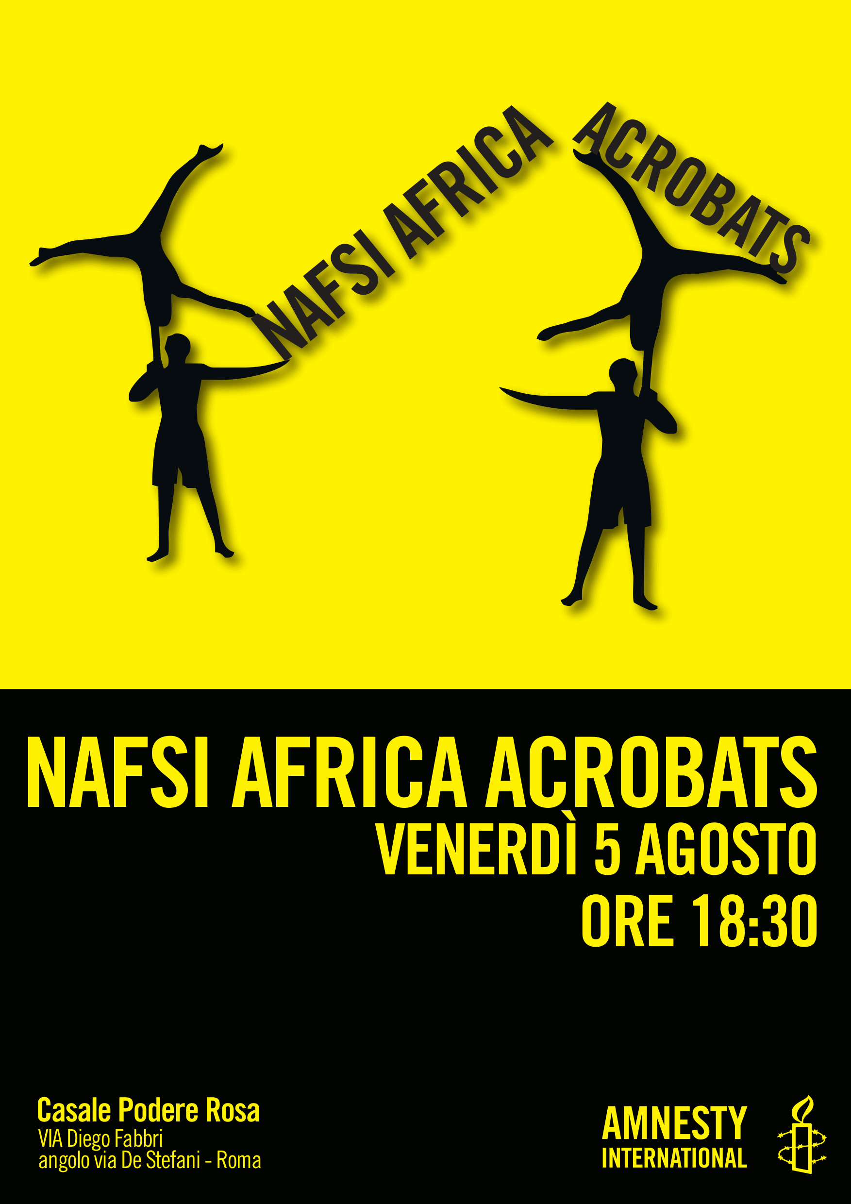 Nafsi Africa Acrobats il 5 agosto @CPR