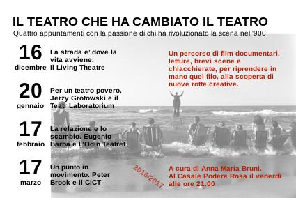 Il teatro che ha cambiato il teatro - 16 dicembre @CPR