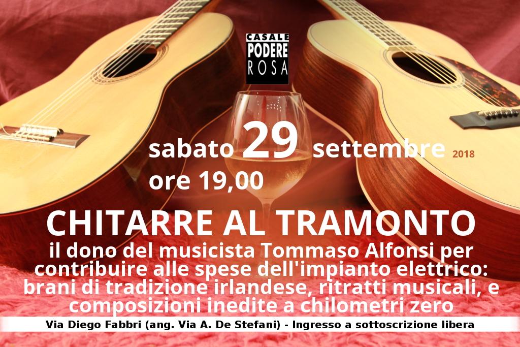 Chitarre al tramonto concerto di Tommaso Alfonsi