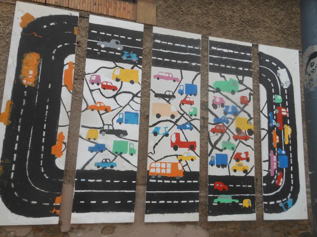 [Roma, murale al Flaminio. foto di Stefano Petrella]