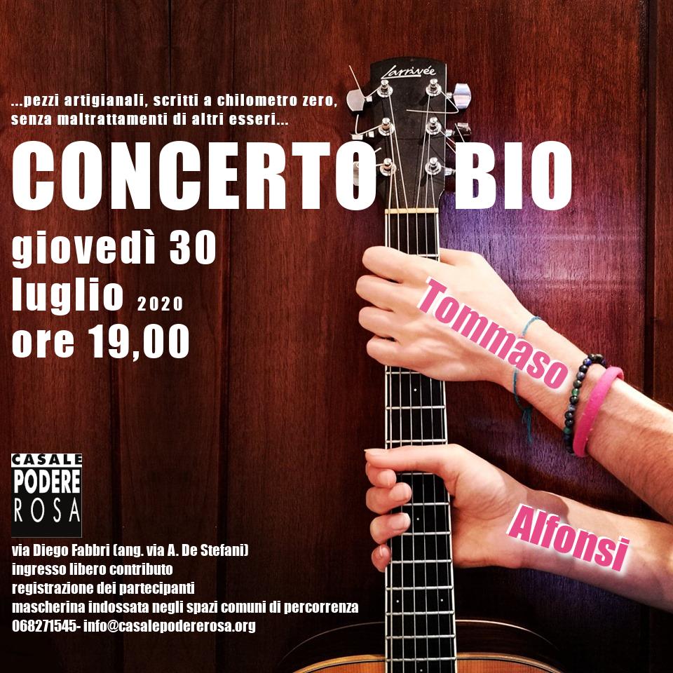 ConcertoBio giovedì 30 luglio