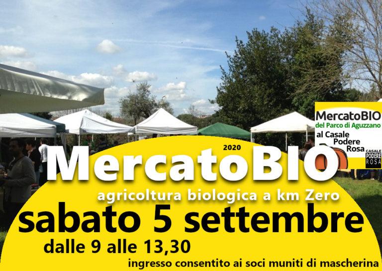 MercatoBIO sabato 5 settembre 2020
