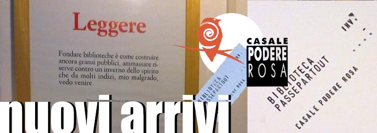 Nuovi arrivi in biblioteca Passepartout