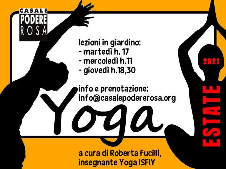 Lezioni di Yoga estate 2021
